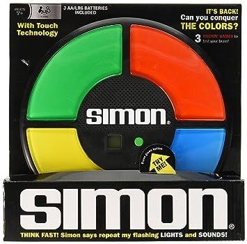 b238fa0c6b50 Simon Electronic Game - Juego de Simón dice (electrónico) [Importado de  Inglaterra]: Amazon.es: Juguetes y juegos