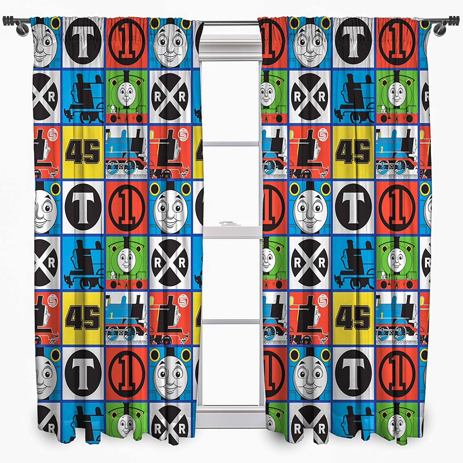 Thomas and Friends Curtains 54s Team