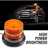 Amber led Light, Dinfu Emergency Powerful Magnetic Flashing Warning Beacon for Truck Ship Yacht Vehicle School Bus