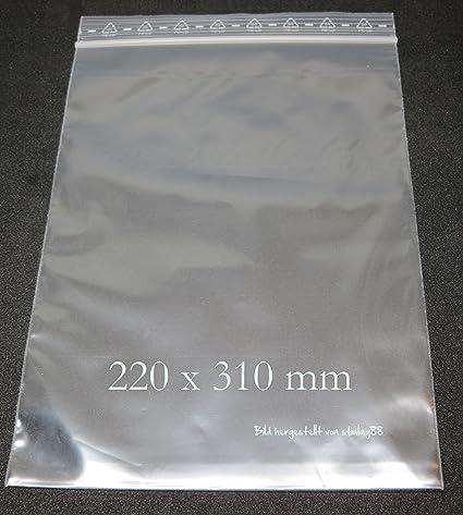100 pieza DINA4 220 x 310 mm/50ɥm, PE de LD Impresión Bolsas ...