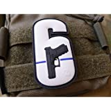 Jackets To Go WY6 Watch Your Six Patch fullcolor Thin Blue Line, special Patch