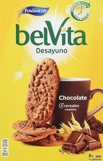 Fontaneda - Belvita - Galletas chocolate con cereales - 400 g - [Pack de 14]
