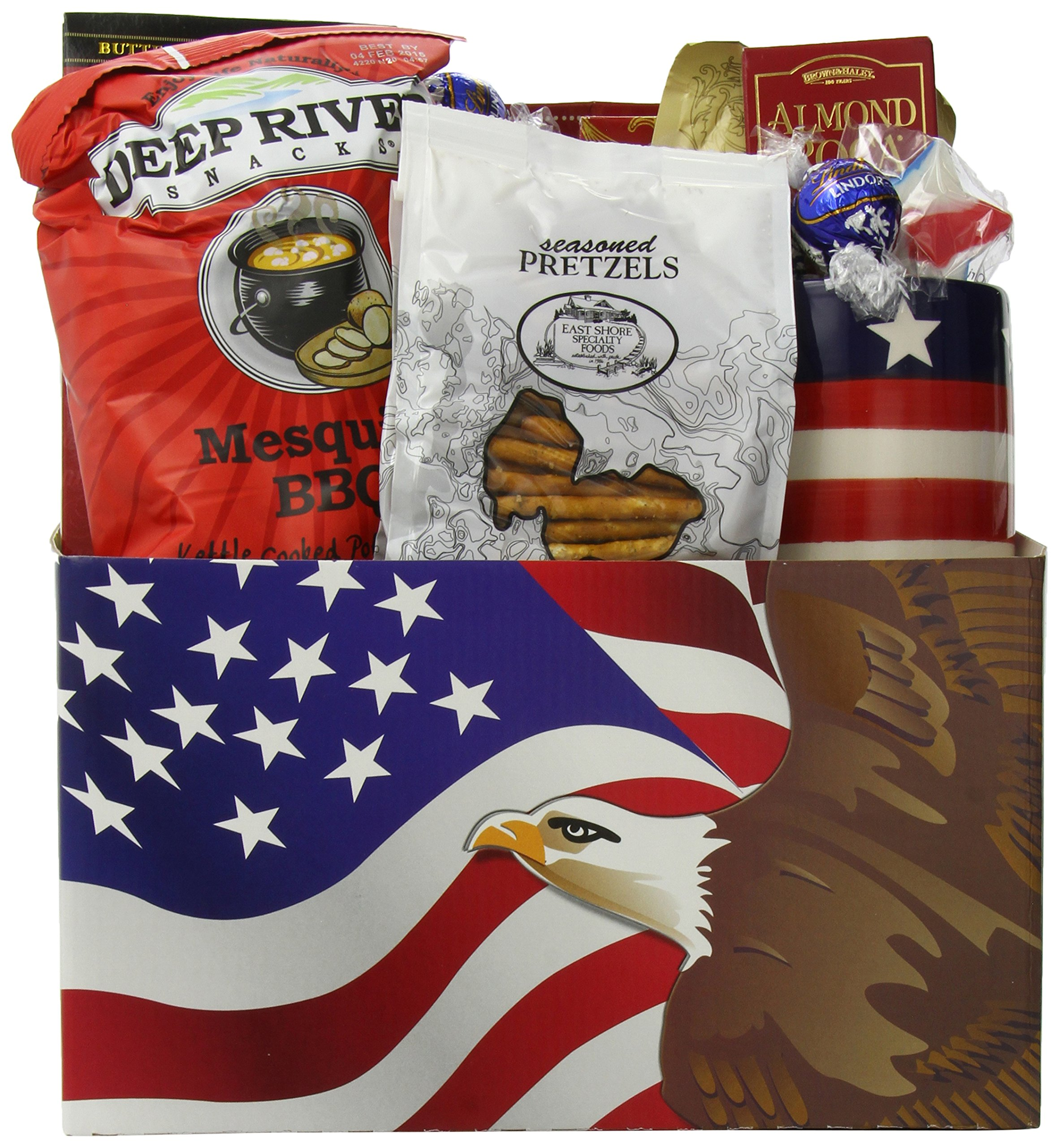 GreatArrivals Gift Baskets Enduring Freedom, Welcome Home Solider or Patriotic by GreatArrivals Gift Baskets (Image #2)