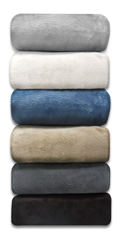 [リネン アベニュー]Linen Avenue Luxury King Stone Micro Plush Blanket DLBK10290SE [並行輸入品] King Stone (Tan) B00TZW4YUG