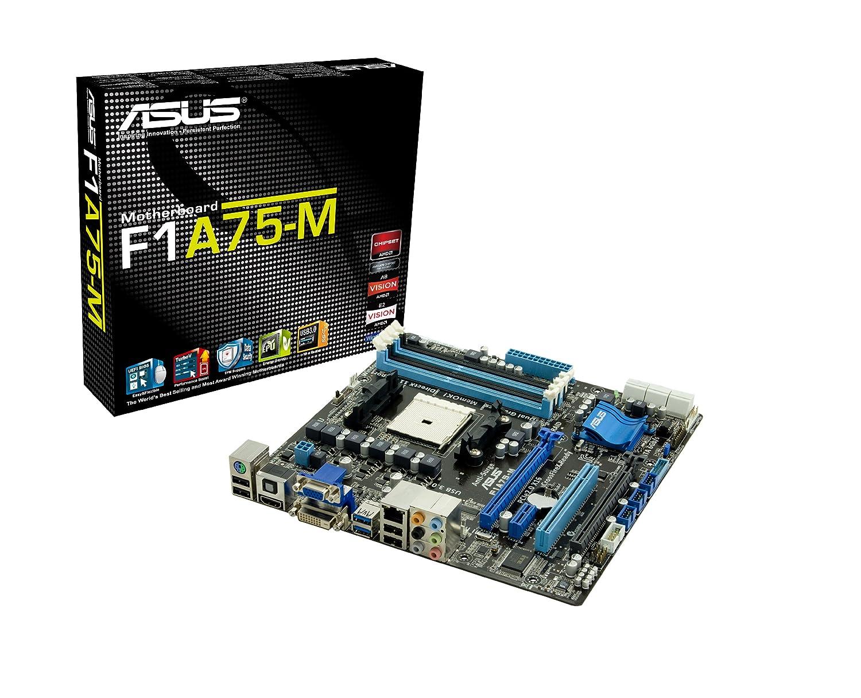 ASUS F1A75-M AMD Hudson D3 Socket FM1 Micro ATX - Placa Base (1066,1333,1600,1866 MHz, Dual, 16GB,1GB,2GB,4GB,8GB, 64 GB, AMD, AMD A,AMD E2): Amazon.es: ...