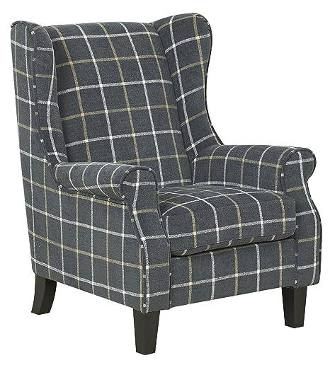 El Chester - silla de espalda alta Wing - diseño de suave ...