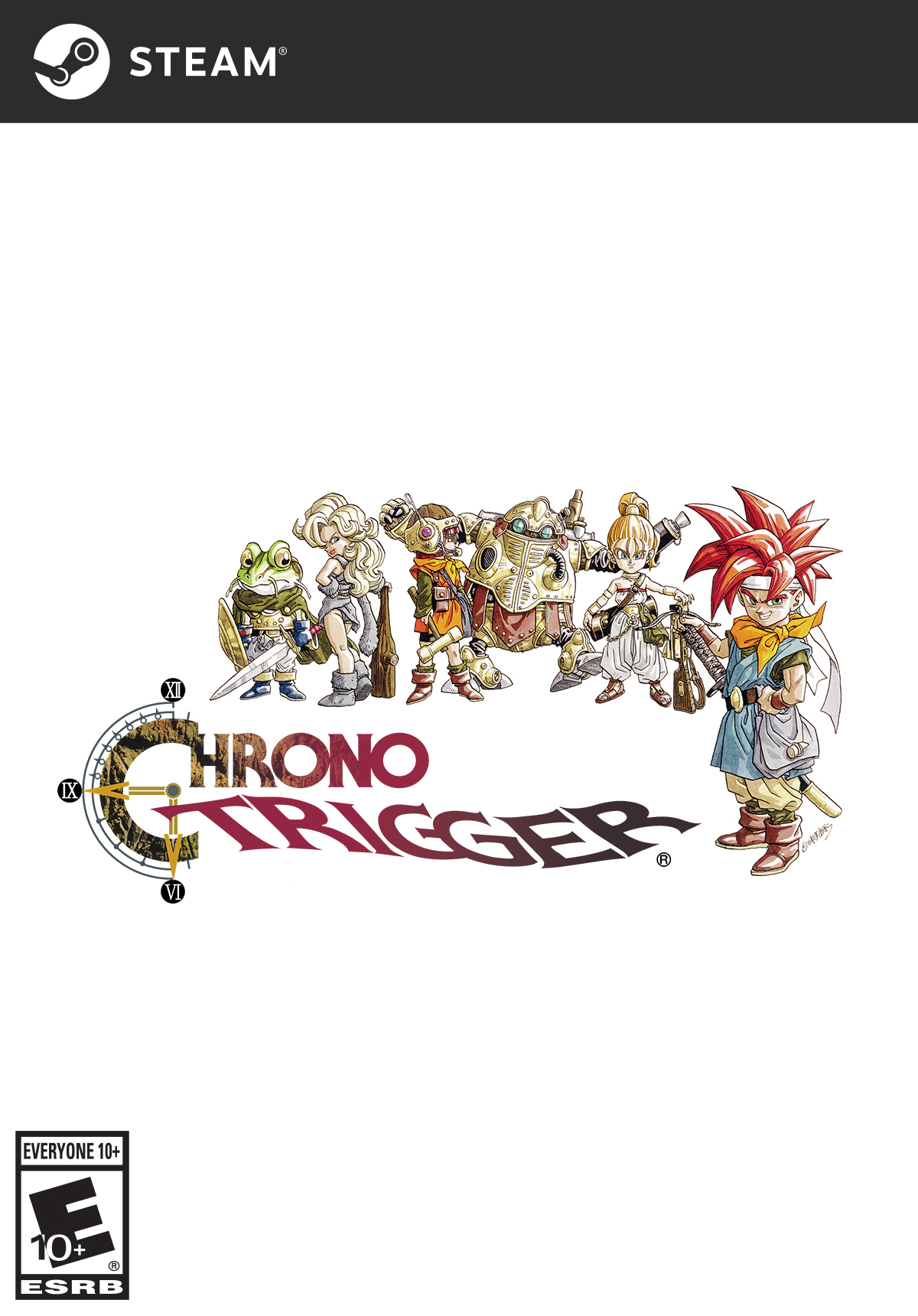 CHRONO TRIGGER [Online Game Code] (Finale Music Composer)