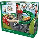 BRIO (ブリオ) WORLD ウェアハウスレールセット [ 木製レール おもちゃ ] 33887