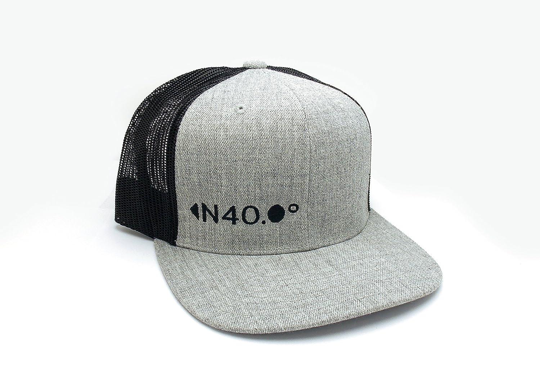 North 40 Latitude - Mesh   Wool Hat Trucker - 2238499d4912