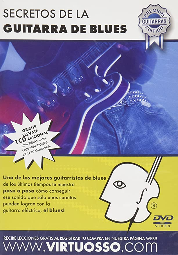 Amazon.com: Virtuosso Blues Guitar Method (Curso De Guitarra De Blues) SPANISH ONLY: Musical Instruments