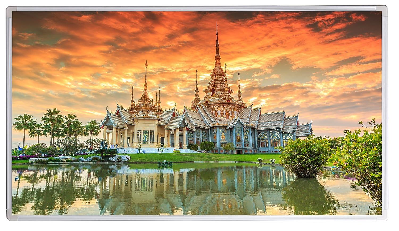 Könighaus Infrarotheizung mit Bild - Bildheizung Angkor Wat