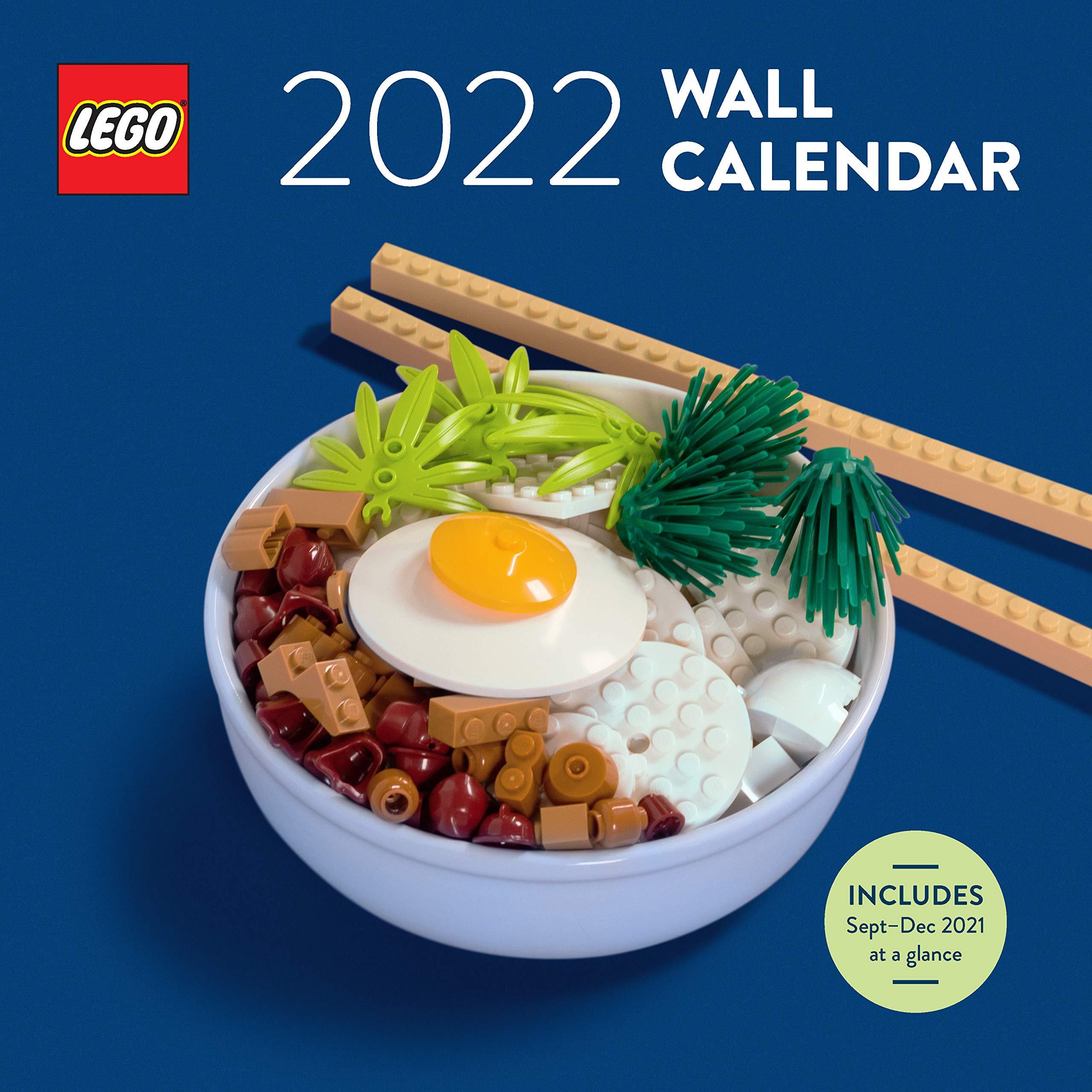 Lego October 2022 Calendar.Lego 2022 Wall Calendar Lego 9781797210735 Amazon Com Books