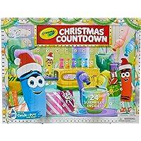 Crayola Kids Advent Calendar, Christmas Countdown Calendar, 24 Crafts, Gift