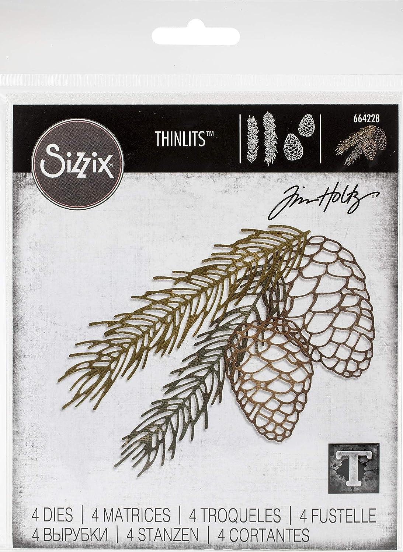 Tim Holtz - Sizzix SIZZIX THINLITS Dies BRNCH, Pine Branch