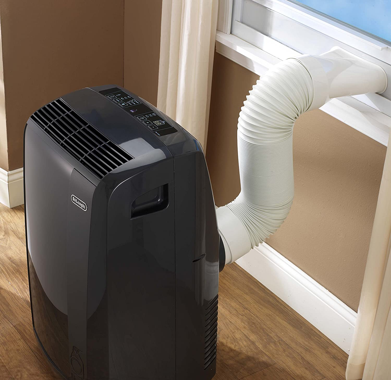 Amazon.com: De'Longhi PACN110EC Pinguino Portable Air Conditioner, 350 sq.  ft.: Home & Kitchen