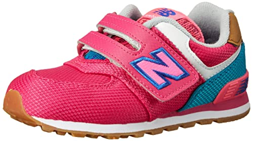 New Balance KG574 Expedition Running Shoe (Infant/Toddler), Pink ...