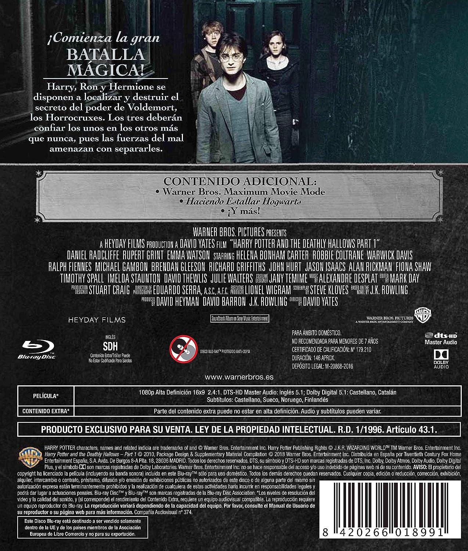 Harry Potter Y Las Reliquias De La Muerte Parte 1. Ed. 2018 ...