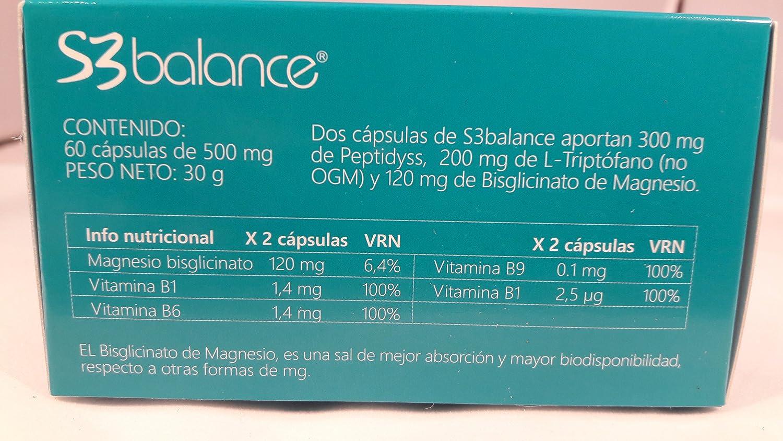 S3 Balance 60 cápsulas de Fitoinnova: Amazon.es: Salud y cuidado personal