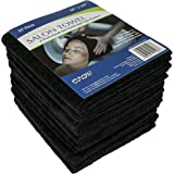 Eurow Professional Salon Towels Gentle and Soft Microfiber Hair Drying 16 x 29 Inches 10 Pack