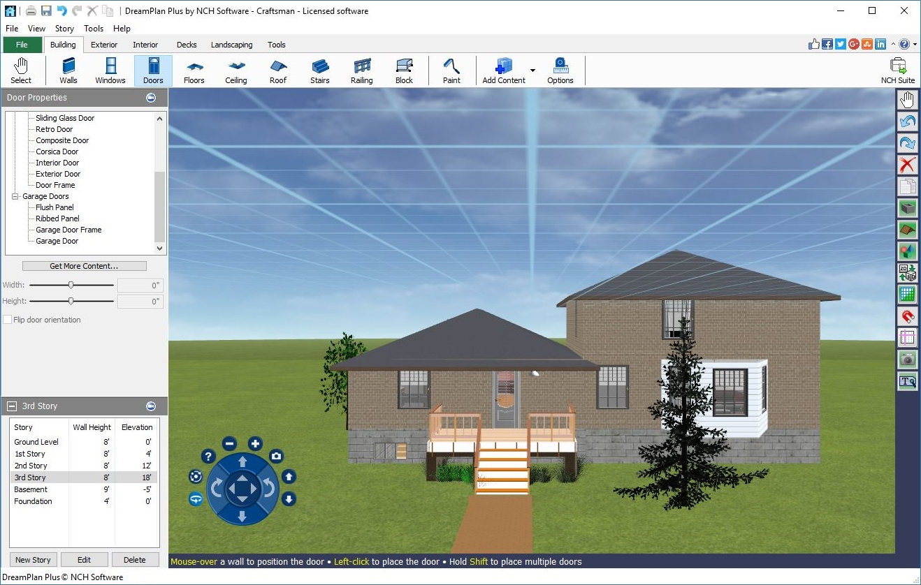 Amazon com dreamplan 3d home and landscape design software to create indoor and outdoor house designs download software