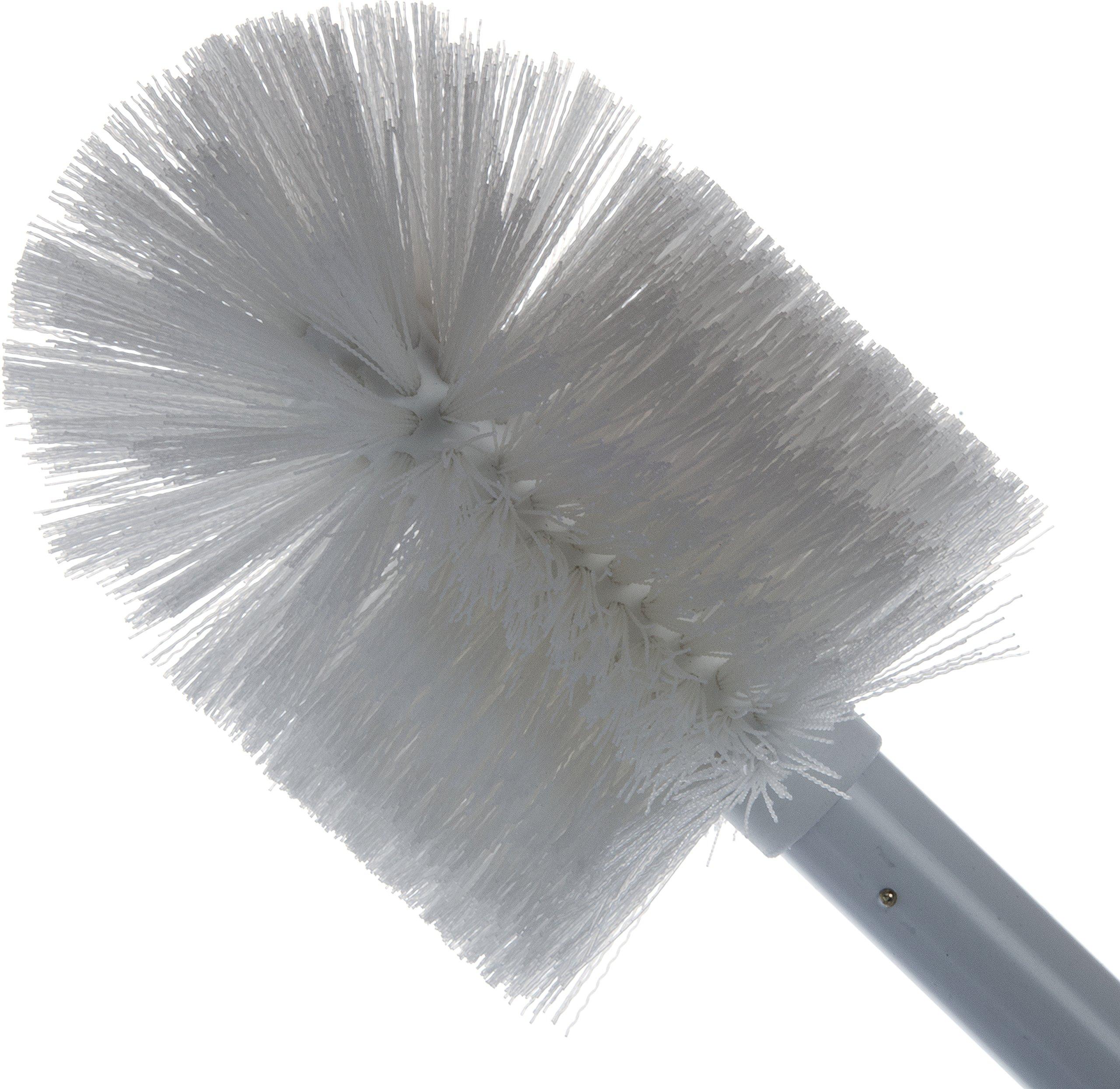 Carlisle 4000802 Sparta Spectrum Multi-Purpose Round Valve and Fitting Brush, Plastic Handle, White Polyester Bristles, 6'' L x 5'' Dia. Brush, 30'' Overall Length (Case of 6) by Carlisle (Image #5)