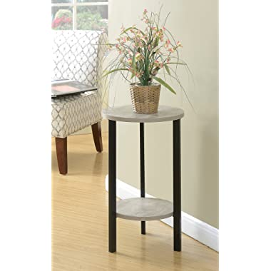 Convenience Concepts Graystone 24  Plantstand, Faux Birch