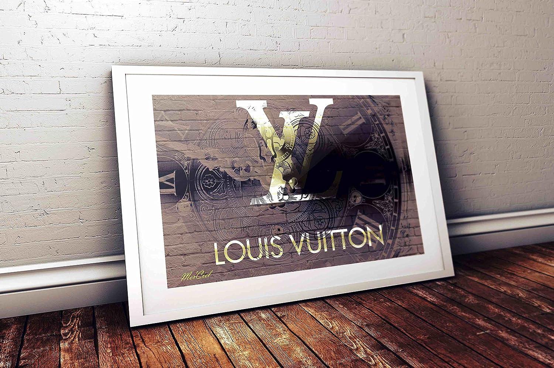 【Mer'Ciel】ブランドオマージュアートポスタ)ー #HA_lv0102( Louis Vuitton) (A1, 01) [並行輸入品] B01N7V2O6W1 A1