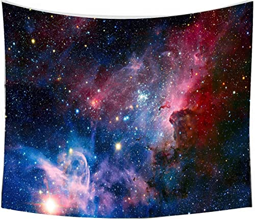 Starry Sky Tapestry, Home 3D Cosmic Galaxy Tapestry, Living Room Bedroom Decoration Tapestry, Mattress, Tablecloth