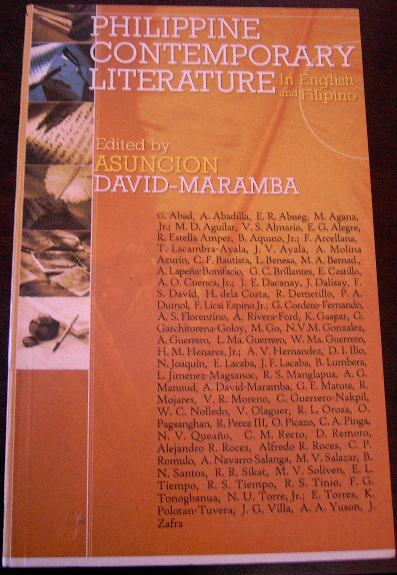 philippine literature in english