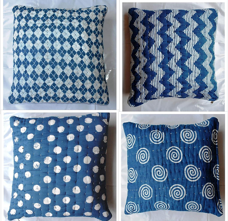 Designer Hand Block Printed Handmade Cushion Cover