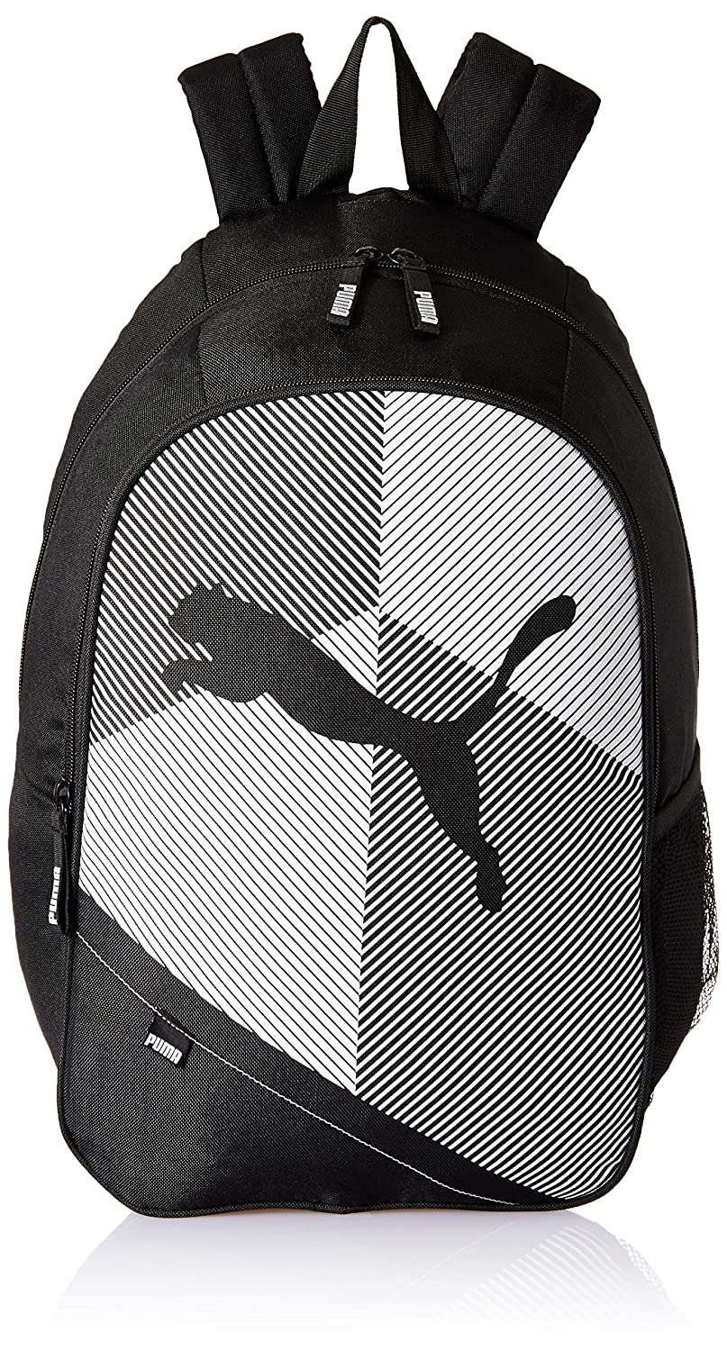 5a055dafed27 PUMA Puma Black-Puma White Laptop Backpack (7544901)  Amazon.in  Bags