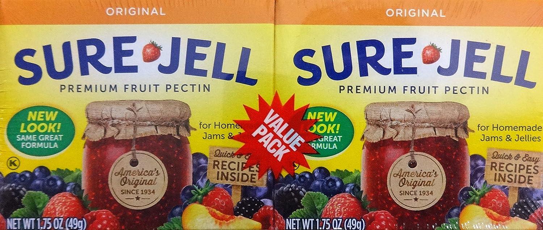 Sure Jell Premium Fruit Pectin, 1.75 Oz, 3-Twin Packs