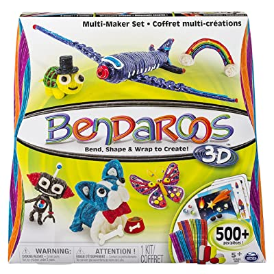 Bendaroos 3D, 500 Piece Multi Maker Set: Toys & Games