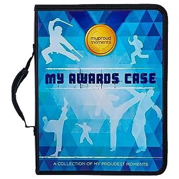 Estuche para medallas de y certificados de karate: Amazon.es ...