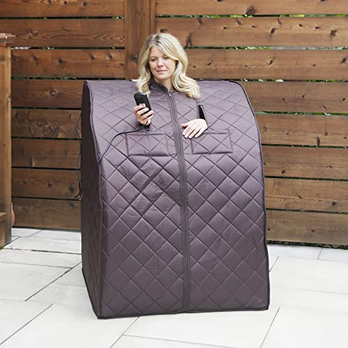 HEATWAVE BSA6315 Harmony Deluxe Oversized Portable Sauna