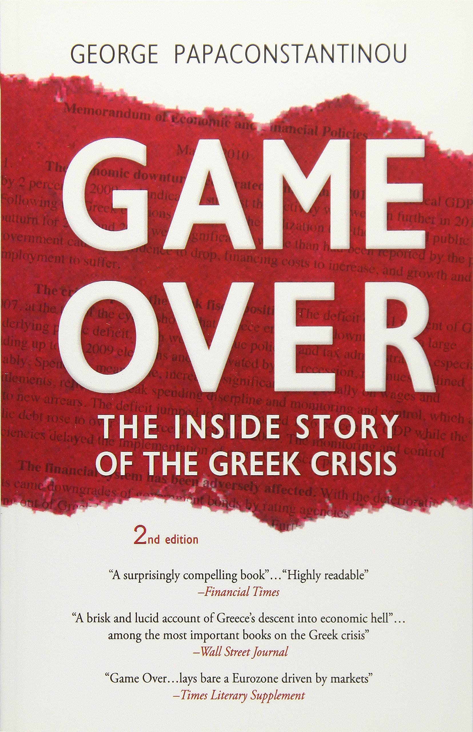 amazon game over the inside story of the greek crisis george