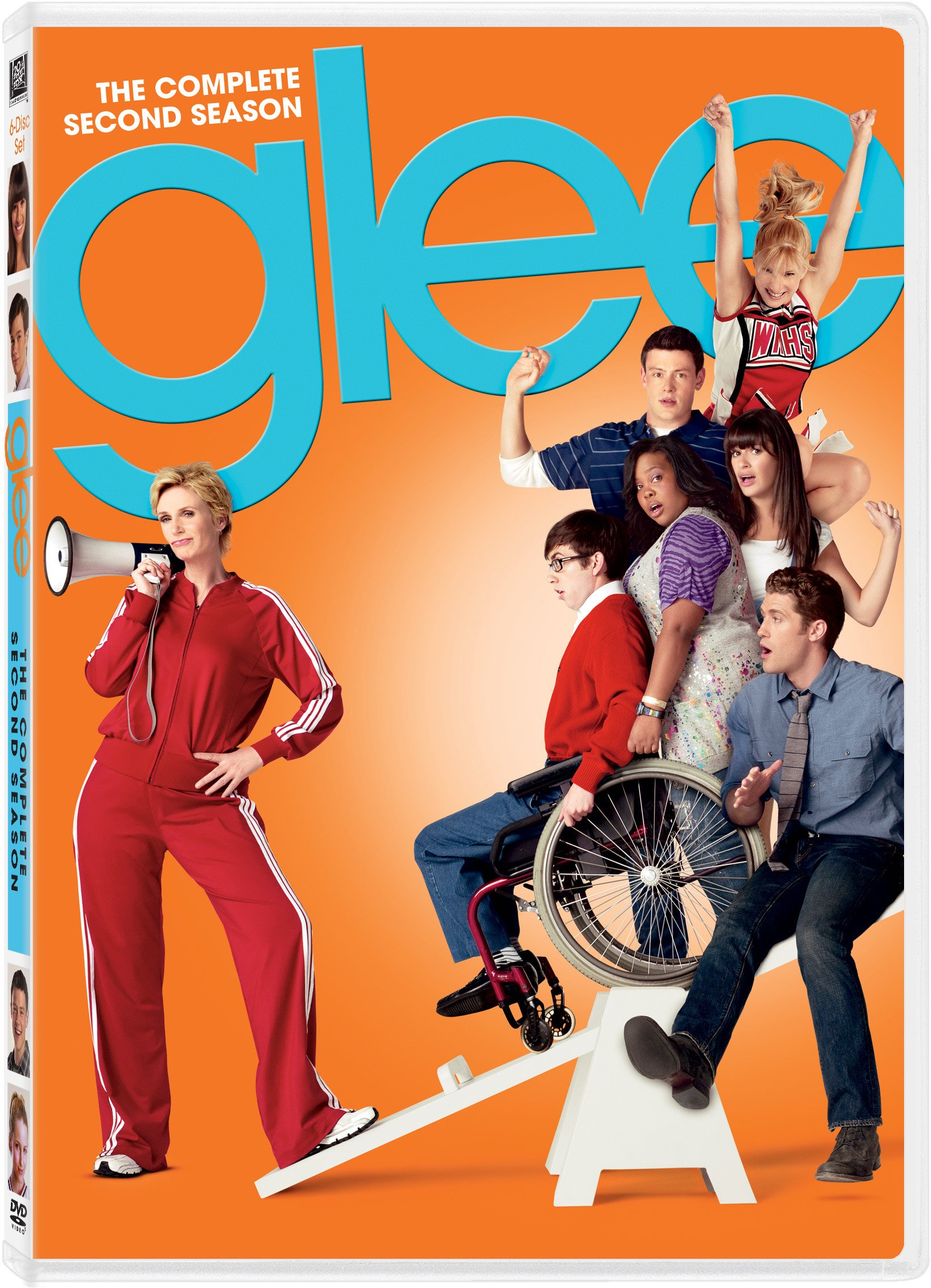 DVD : Glee: The Complete Second Season (, Dolby, AC-3, Widescreen, 6 Disc)