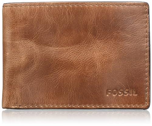 Fossil - Derrick, Carteras Hombre, Braun (Brown), 1.9x7.6x10