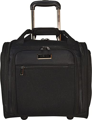 Kenneth Cole Reaction Excursion Wheeled Underseat Carry On Bag Black