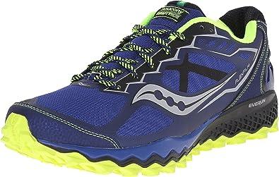 Saucony Peregrine 6 del Hombres Trail Zapatillas de Running, Color Azul, Talla 49 EU: Amazon.es: Zapatos y complementos
