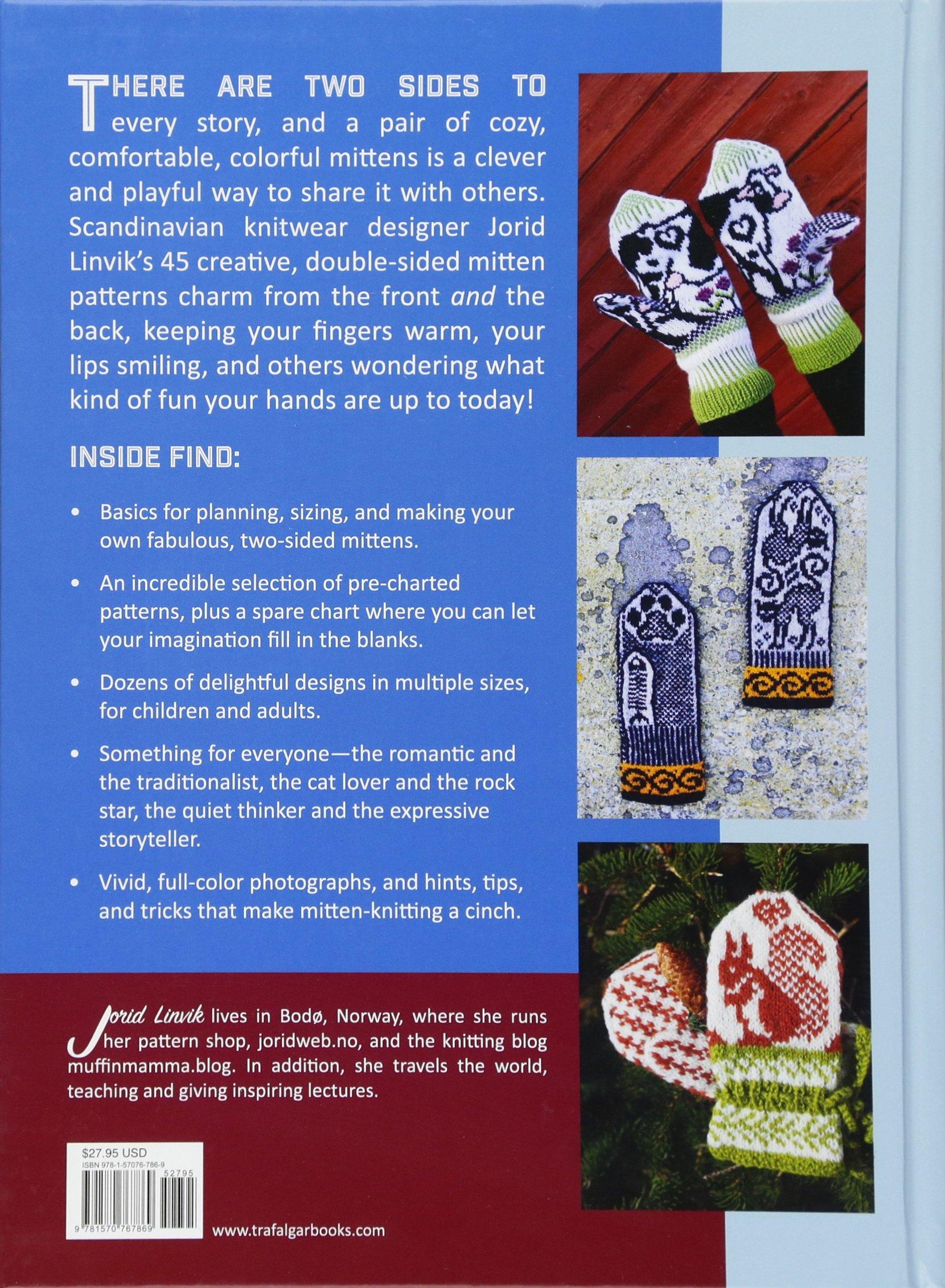 Jorid Linviks Big Book Of Knitted Mittens 45 Distinctive Scandinavian Patterns Linvik 9781570767869 Amazon Books
