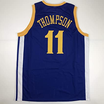 d682837c0 Unsigned Klay Thompson Golden State Blue Custom Stitched Basketball Jersey  Size Men s XL New No Brands
