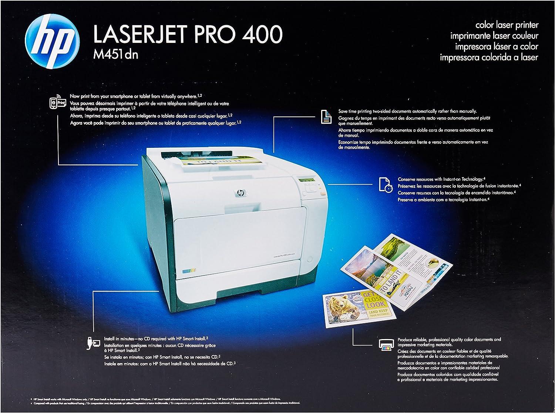 Amazon.com: HP Laserjet Pro M451dn impresora a color ...