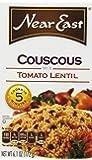 Near East Coucous Mix, Tomato Lentil, 6.1oz Box