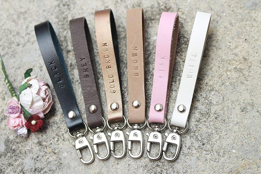 Loki Doki Dog Wristlet Lanyard New Car Gift Car Accessories Modern Chic GRAY ARROW Keychain Wristlet Swivel Keychain Key Fob