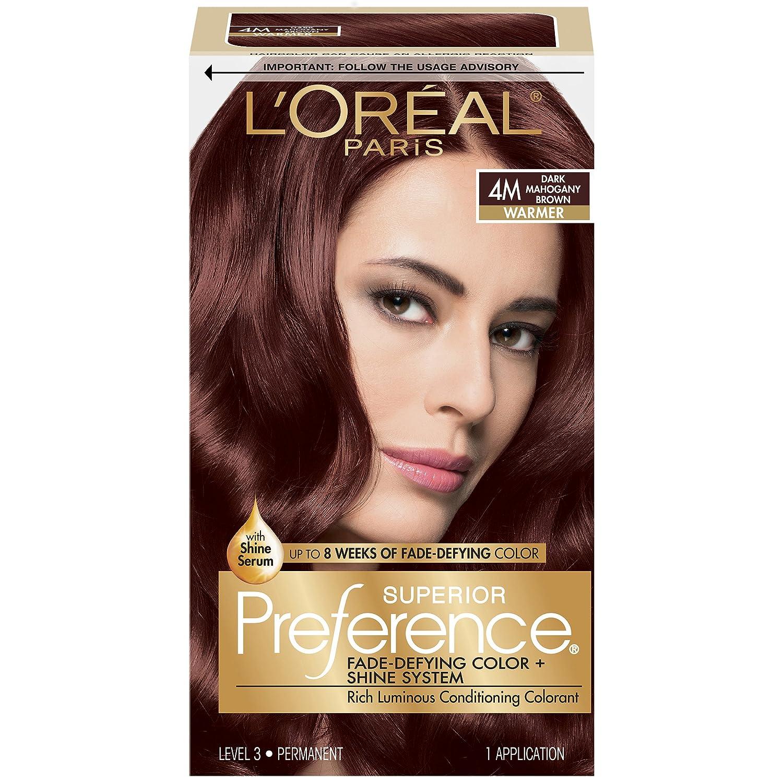 Loral Paris Superior Preference Permanent Hair Color 4m Dark
