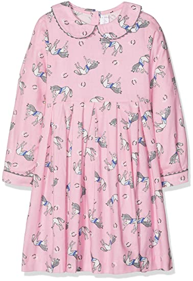 5d415e63f Rachel Riley Girl's Pony Flannel Dress Pink, 5 Years (Size: ...