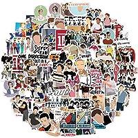 One Direction Stickers Pack 100Pcs, Laptop Stickers Bomb Vinyl Stickers Paquete Variado para Equipaje Computadora…