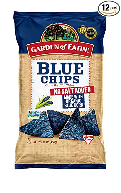 Amazoncom Garden of Eatin Blue No Salt Added Corn Tortilla