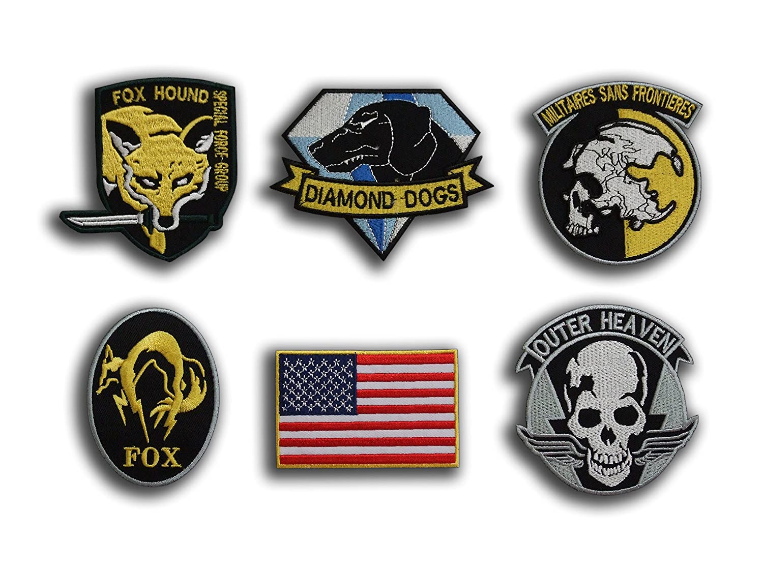 Badges Apparel Sewing & Fabric 1 Pc Mgs Metal Gear Solid Snake Badges To Let The World Be Morale Tactics 3d Pvc Badge